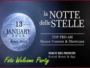 Welcome Party LA Notte Delle Stelle 2018