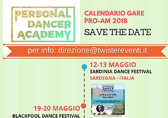 Calendario PRO-AM Competition