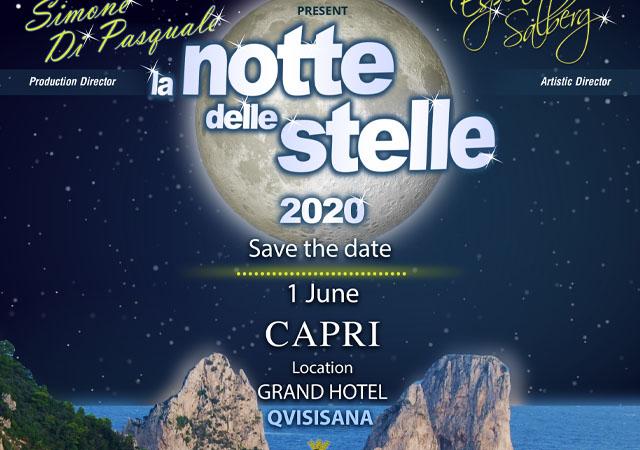 La Notte Delle Stelle – Capri 1 June 2020